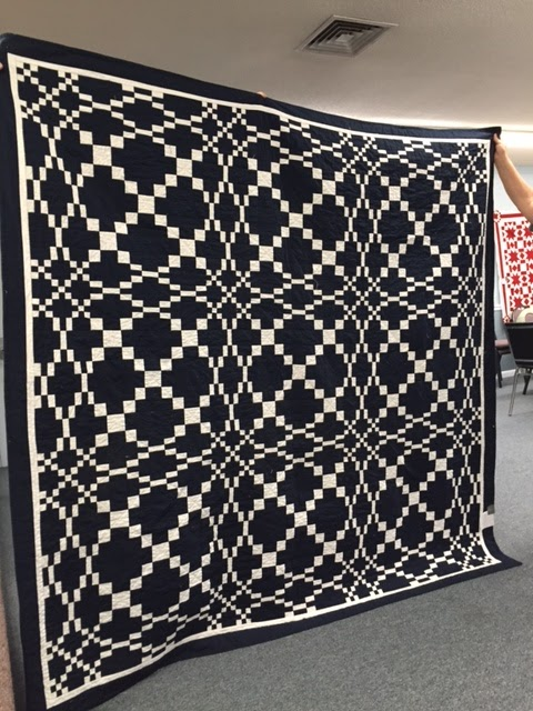Hearthside Quilters June Meeting Two Color Solid Quilt