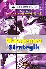 toko buku rahma: buku MANAJEMEN STRATEGI, pengarang rachmat, penerbit pustaka setia