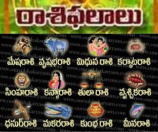 Vijaya Nama Samvathsara Raashi Phalalu : 2013 -14