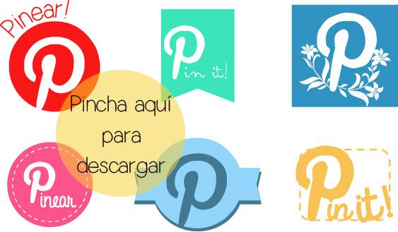 botones para colocar en las fotos de tu blog