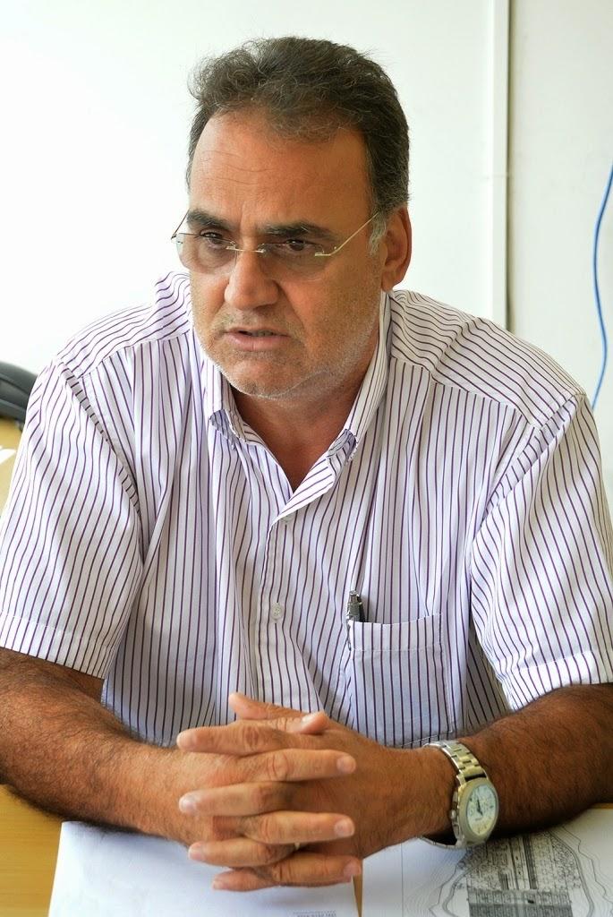 Subsecretário estadual da Região Serrana, João Grilo: obras de construção do viaduto da Ermitage seguem o cronograma previsto