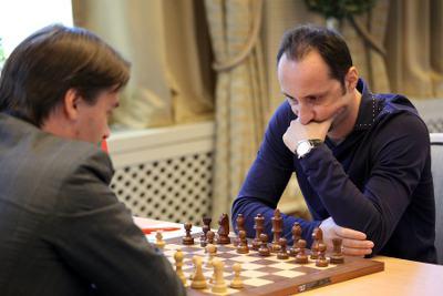 Ronde 9 : Alexander Morozevich (2760) 0-1 Veselin Topalov (2793) - Photo © Anastasia Karlovich
