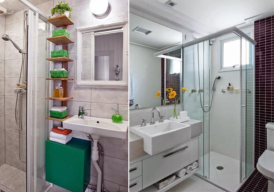 Meu cantinho banheiro pequeno for Banos pequenos modernos y funcional