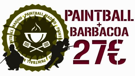 Oferta Paintball + Barbacoa. Paintball Madrid