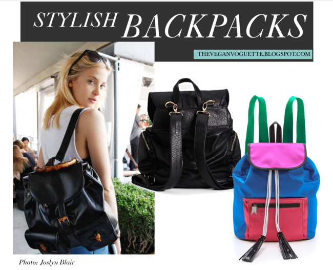 Stylish Backpack Street Style Trend
