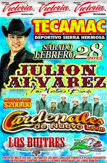 julión álvarez en tecamac 28 de marzo