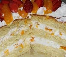 Resep Cara Membuat Vanilla Fruit Cake Enak