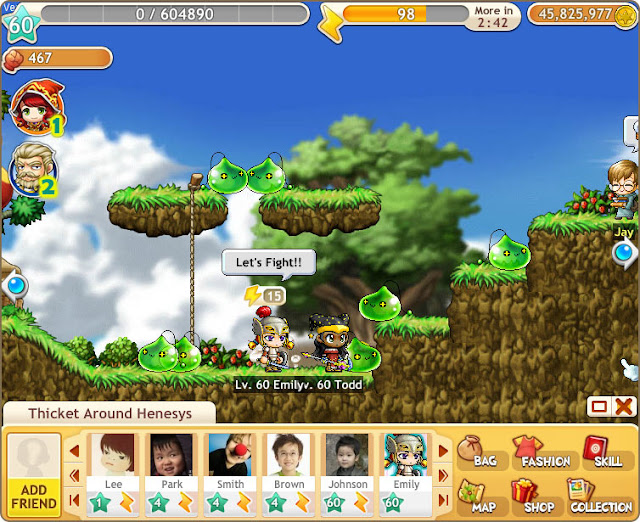Maple Story Adventures Facebook