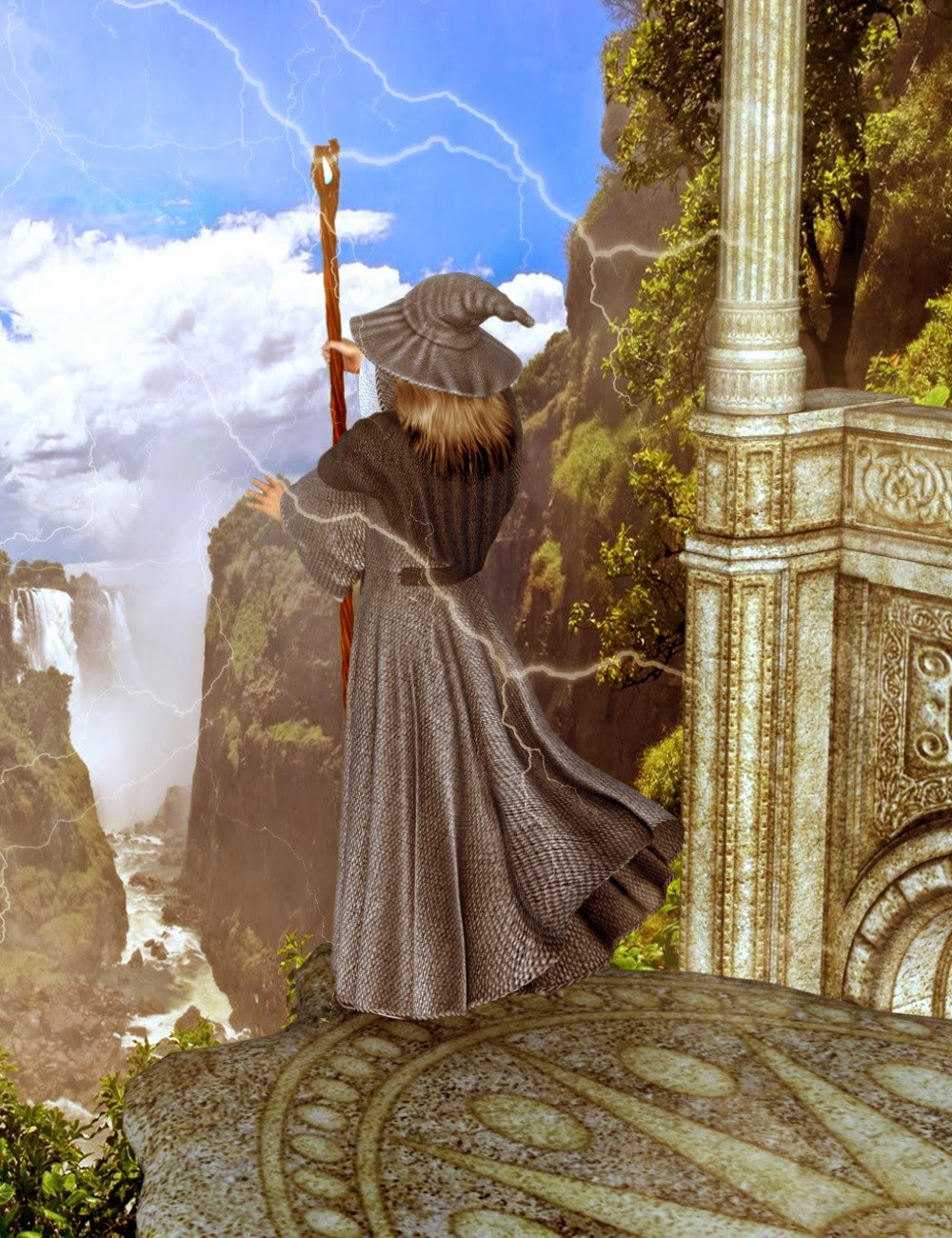 DAZ 3D - Mec4D Les Grands Sorciers de Genèse 2 Homme