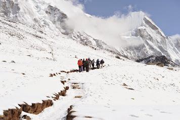 Ex-Pé / trek en haute montagne