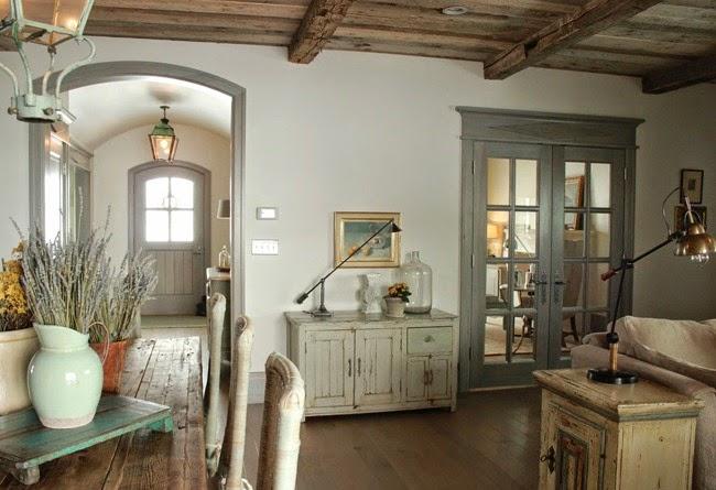 Estilo rustico casa rustica en la provenza rustic house for Estilo rustico provenzal