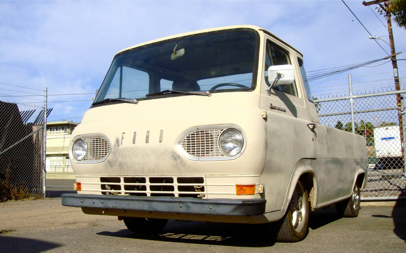 The Street Peep 1961 Ford Econoline Pickup Truck