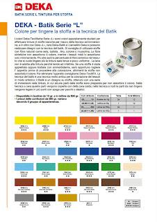 DEKA - Batik Serie L, colore per tingere la stoffa