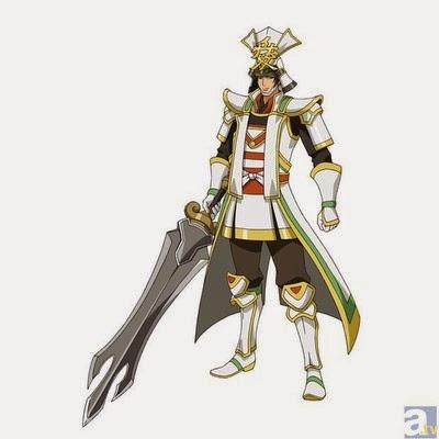 "Manga: más detalles del anime de ""Sengoku Musou""."