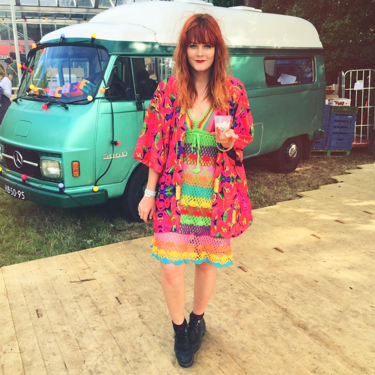 Rainbow Crochet Outfit