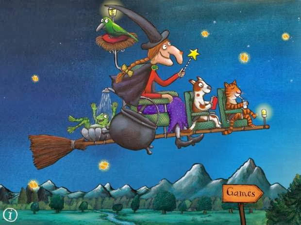 Image result for room on the broom broomstick