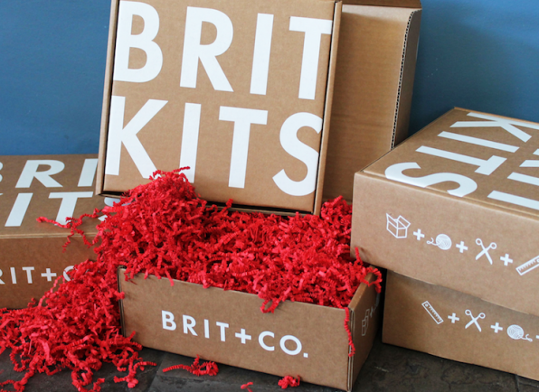 New Crafty Subscription Box Alert! Brit Kit from Brit.Co - DIY Kits!