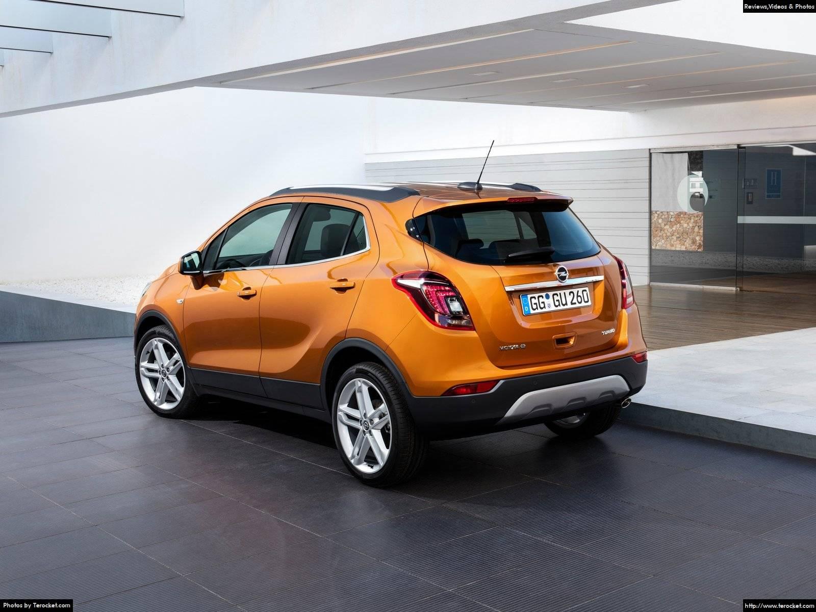 Hình ảnh xe ô tô Opel Mokka X 2017 & nội ngoại thất