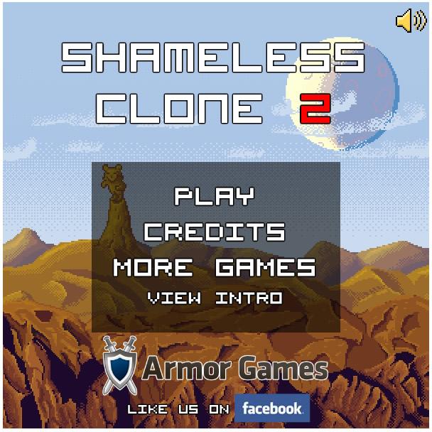 Armor Game : Shameless Clone 2