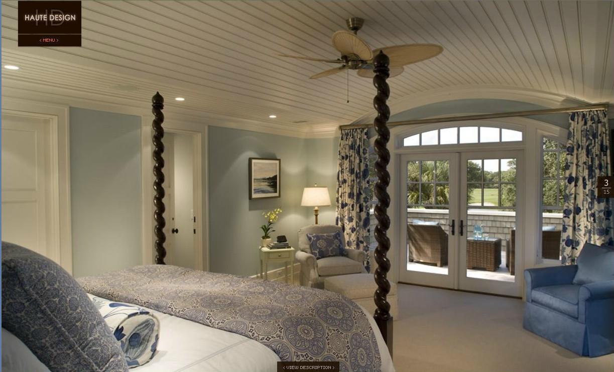 Benjamin Moore Blue Master Bedroom
