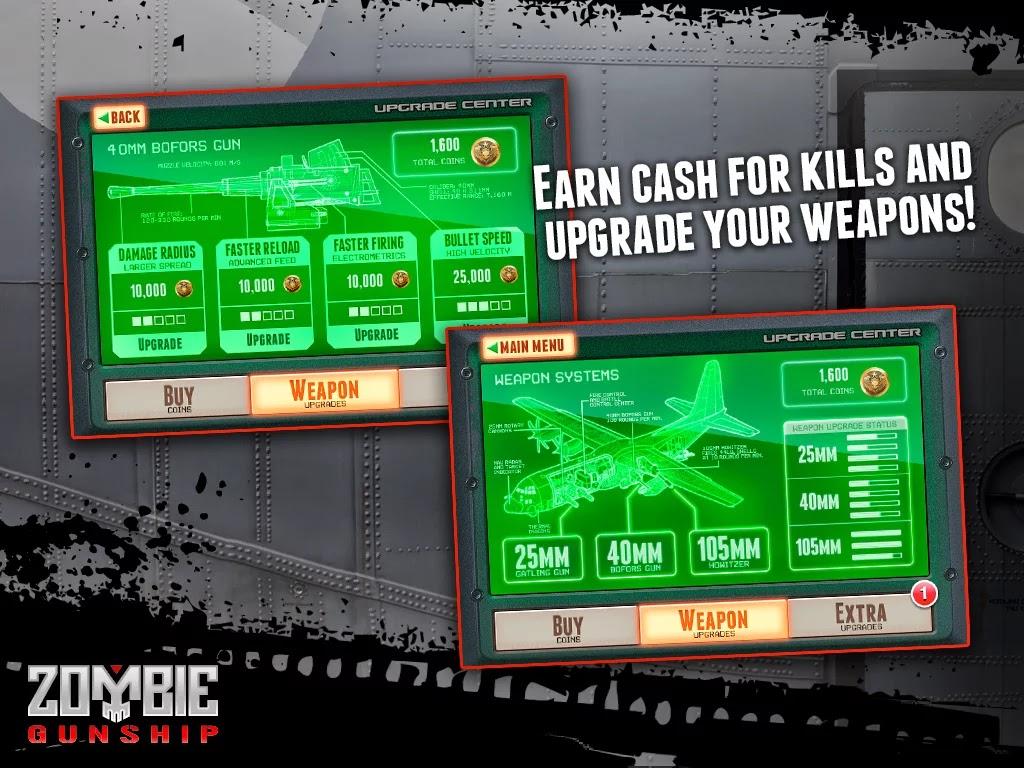 Zombie Gunship: Gun Dead 3D v1.14.4 Mod