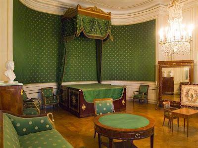 Habitación de la reina Carolina (donde nació Luis II de Baviera)