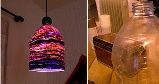 Lámparas con Lana Reciclada, Ideas Ecoresponsables para Accesorios Decorativos y Utilitarios
