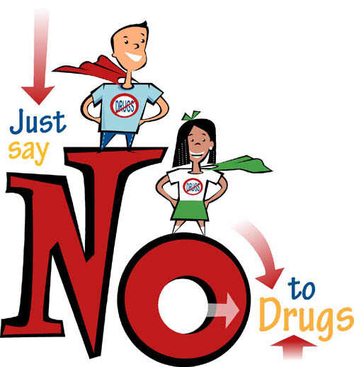 """say no to teenage drug abuse Learn more about the new drug prevention program that wants teens to say  nancy reagan's """"just say no"""" public  teenage drug abuse."""