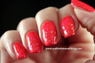 Models Own Splash Collection Swatches Red Sea