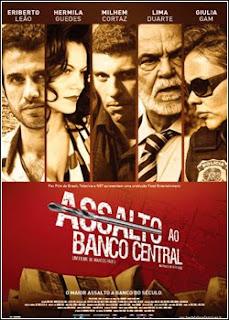 capa Assalto ao Banco Central BRRip AVi + RMVB Nacional