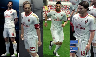 Ac Milan Kits 13-14