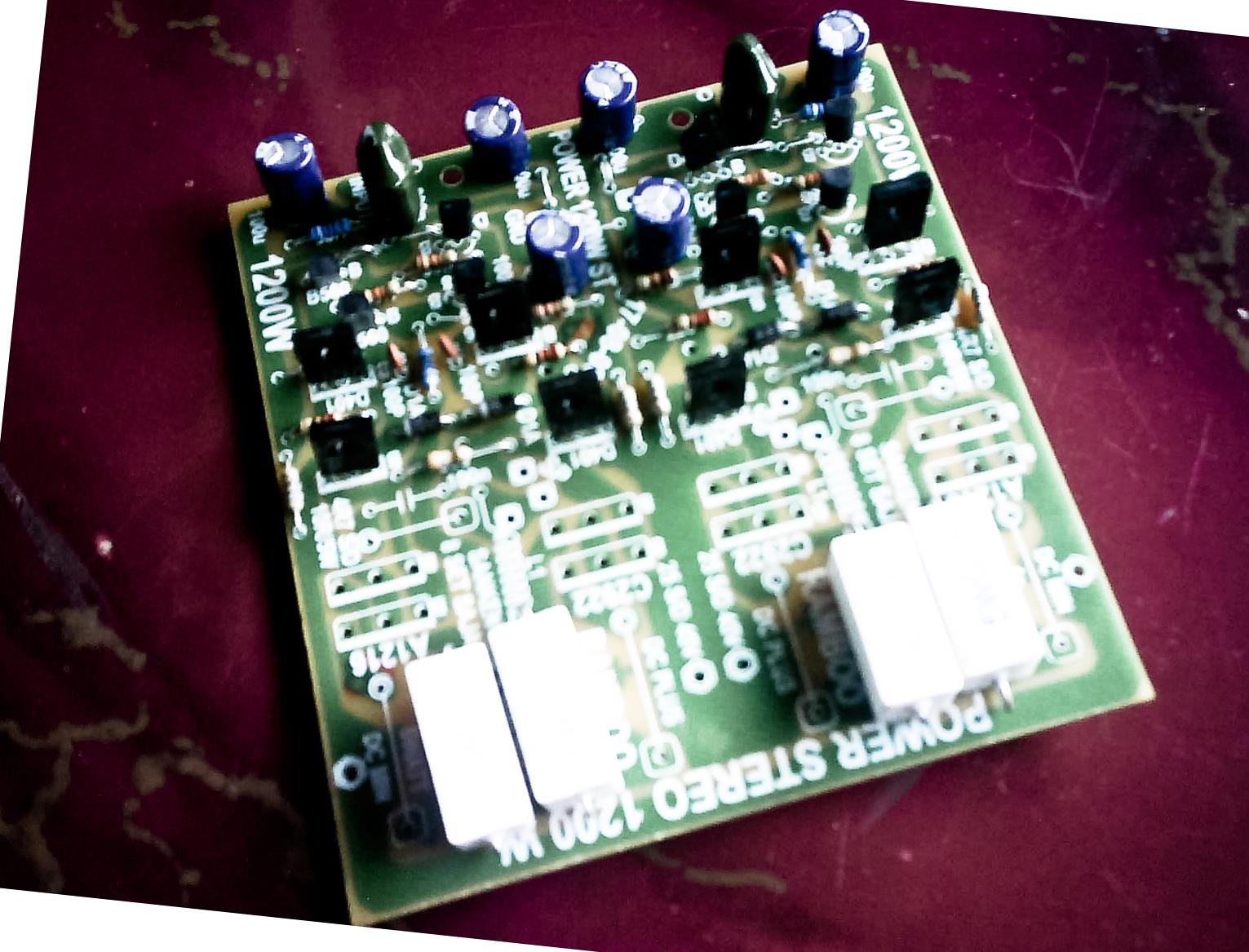 High Power Amplifier