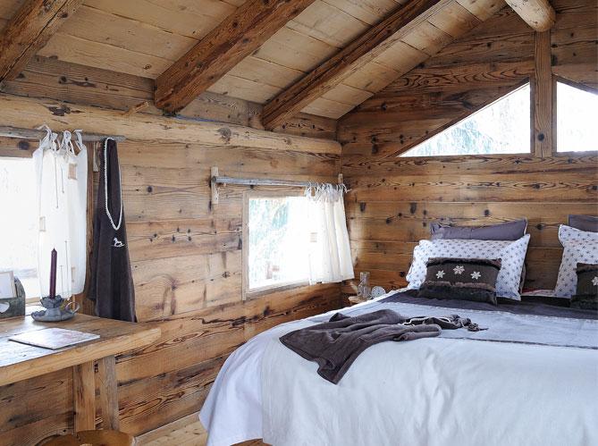 Interior Cabanas Ecologicas De Montana Estilo Rustico Cabana Rustica