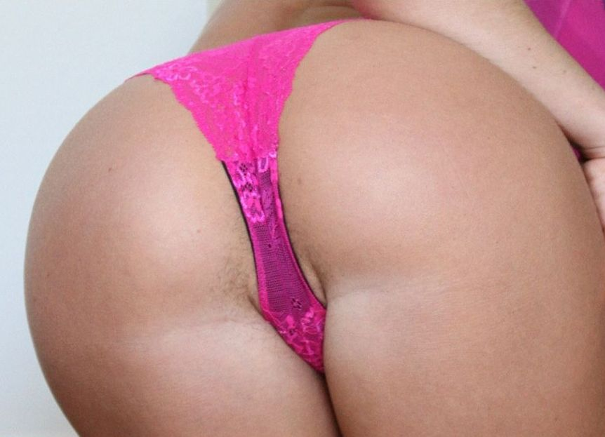 Panties with cum in