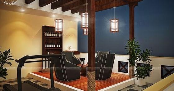 Terrace gazebo designs in india kerala home design and for Terrace 6 pub indore