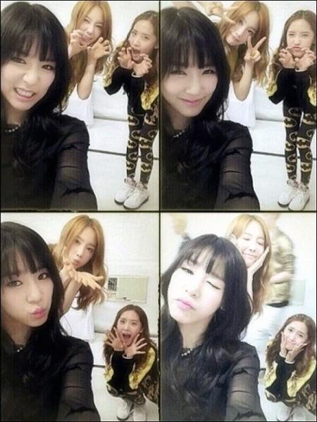 Foto-Foto Lucu Tiffany, Taeyeon dan Yoona SNSD