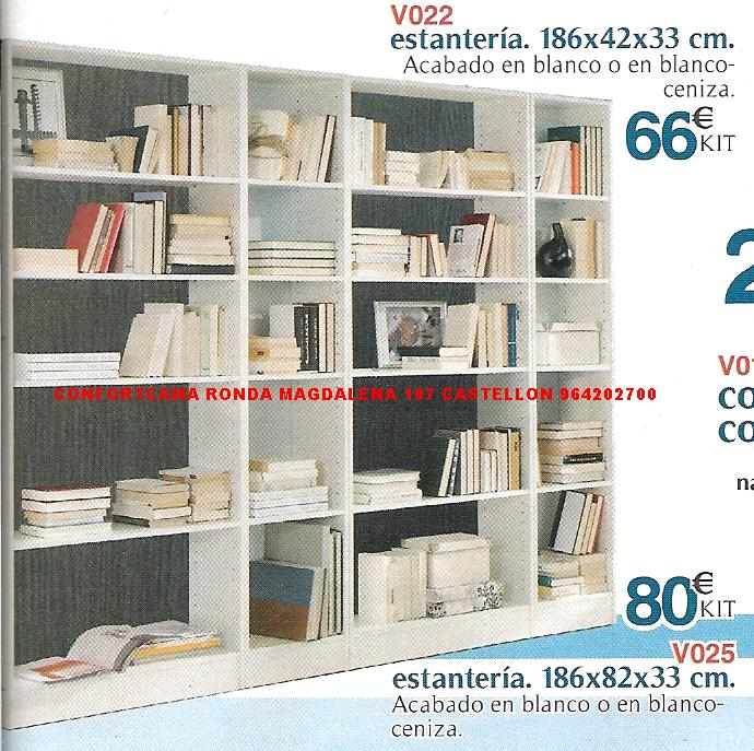 Muebles oferta kit mesas sillas y estanterias for Estanterias para folletos