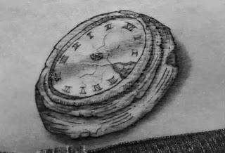 clock with no hands