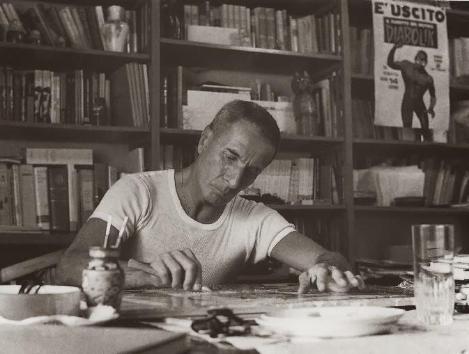 Dino Buzzati Traverso, conosciuto come Dino Buzzati 1906-1972