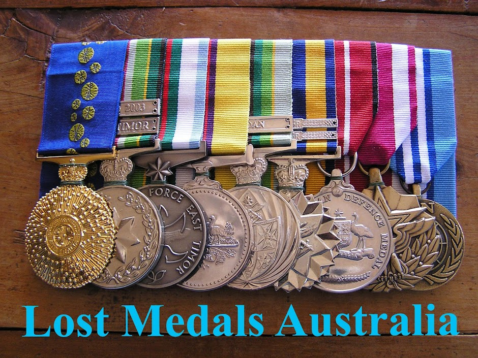 Lost Medals Australia