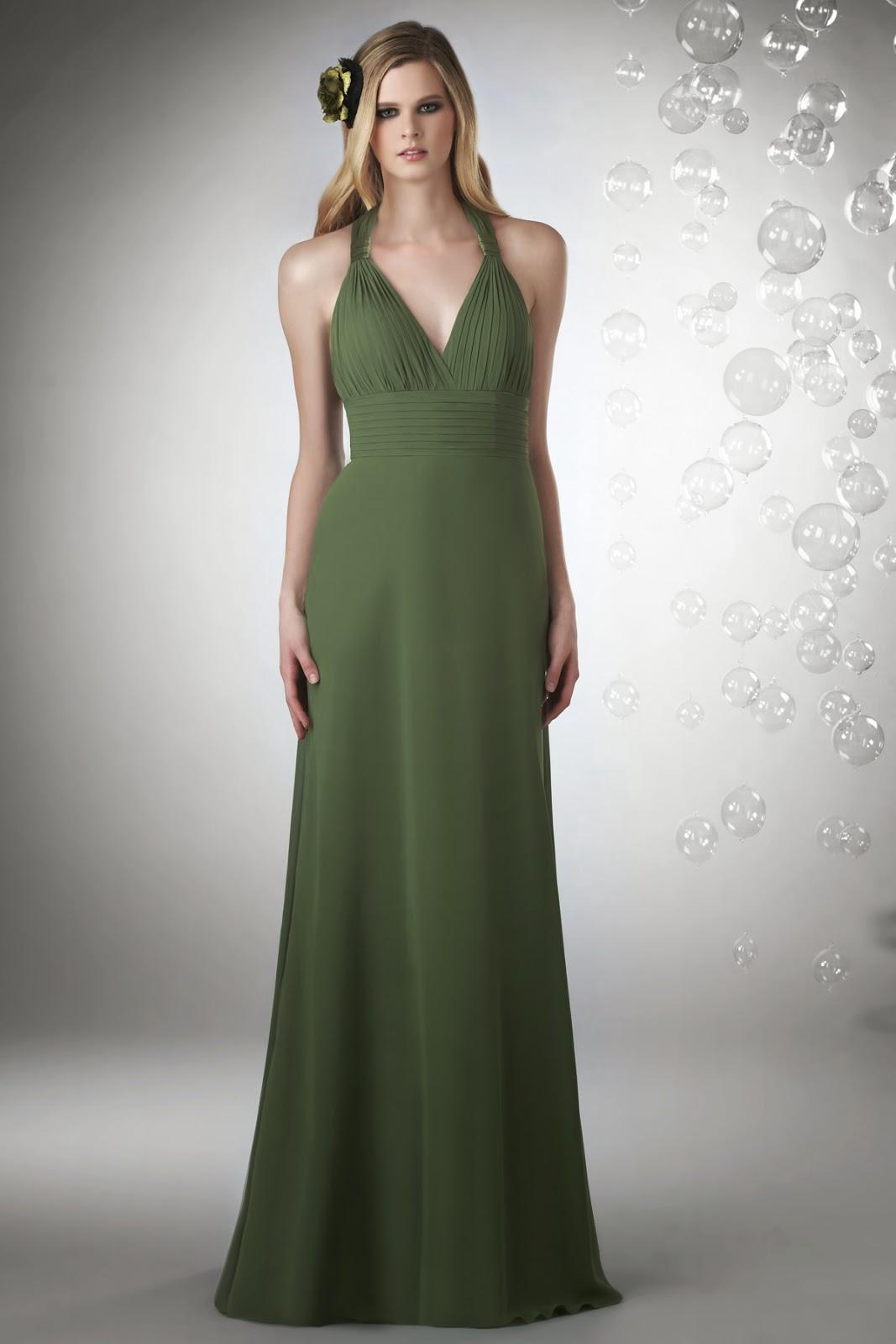 Vestidos madre de la Novia, Verde