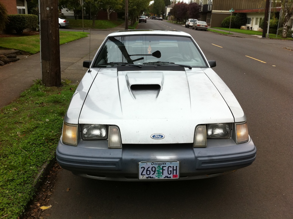The Street Peep 1984 Ford Mustang Svo