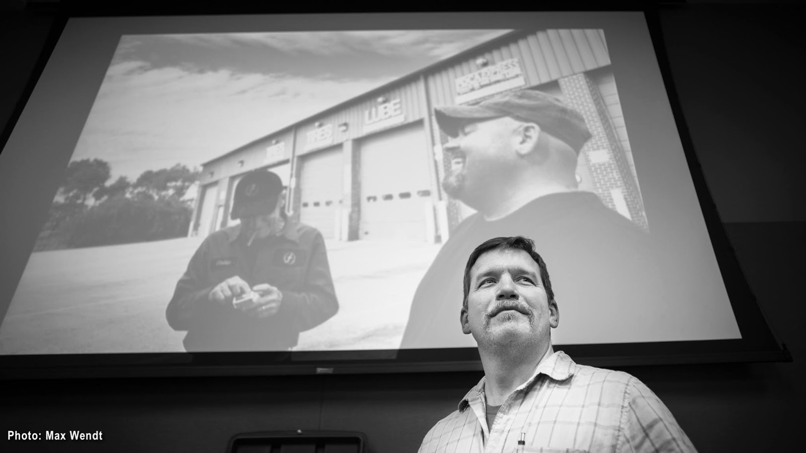 A Trucking Life Photo Exhibit - Kelly Doering - (c) Max Wendt Photography