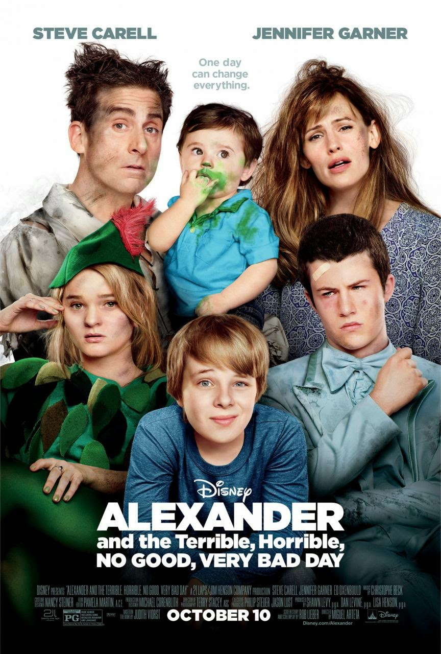 Alexander y el día terrible, horrible, espantoso, horroroso (2014)