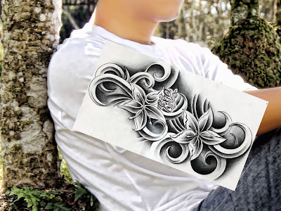 tato2 Membuat Tato warna hitam dengan photoshop