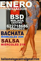 BACHATA EN ENERO EN BSD BAILAS MÁLAGA CENTRO.