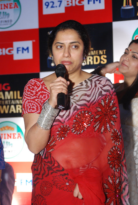 suhasini mani ratnam at big fm et awards