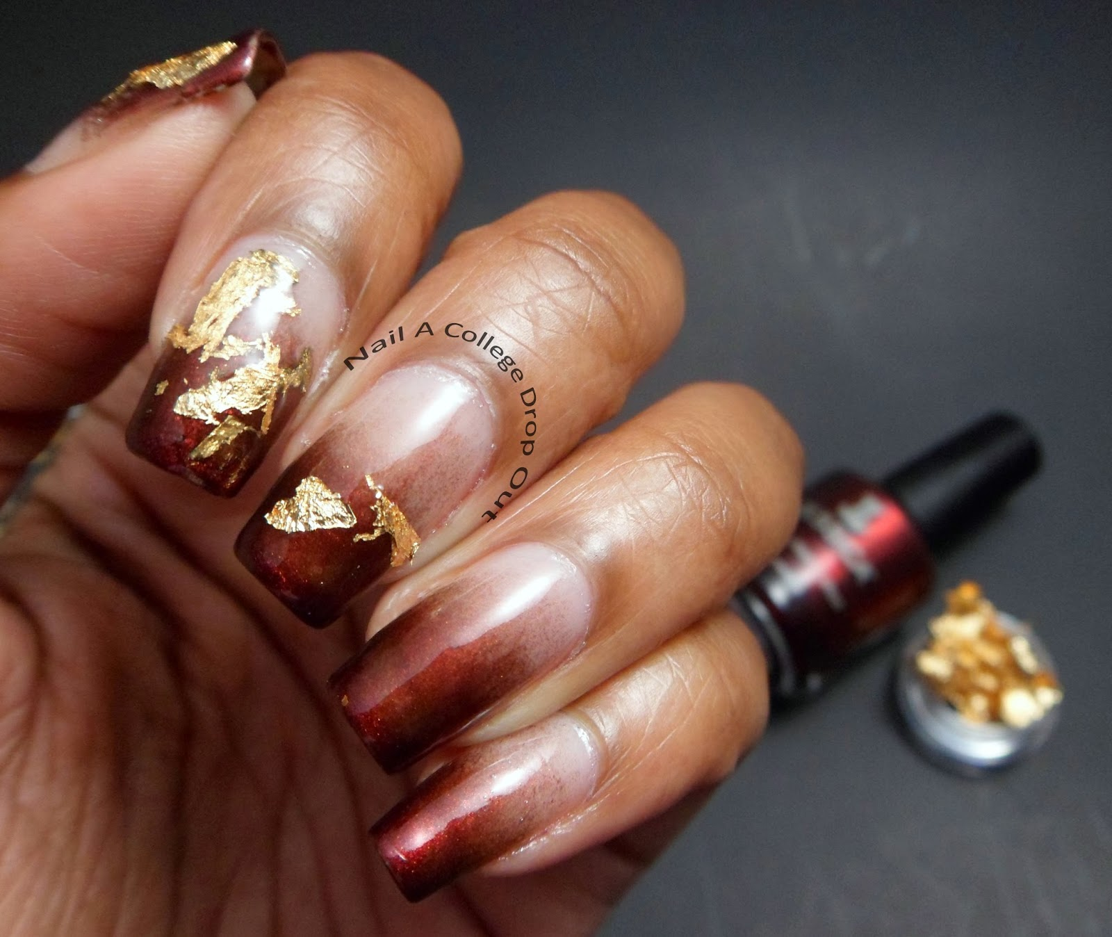 Nail A College Drop Out Nail Art Society Gold Foil Kit