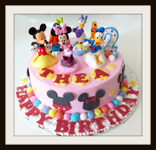 The Sweet Life CupCake.: Happy 2nd Birthday Thea!