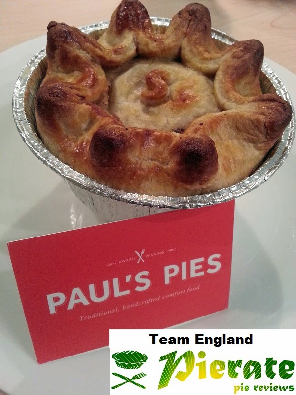 Pierate Team England Pie Review
